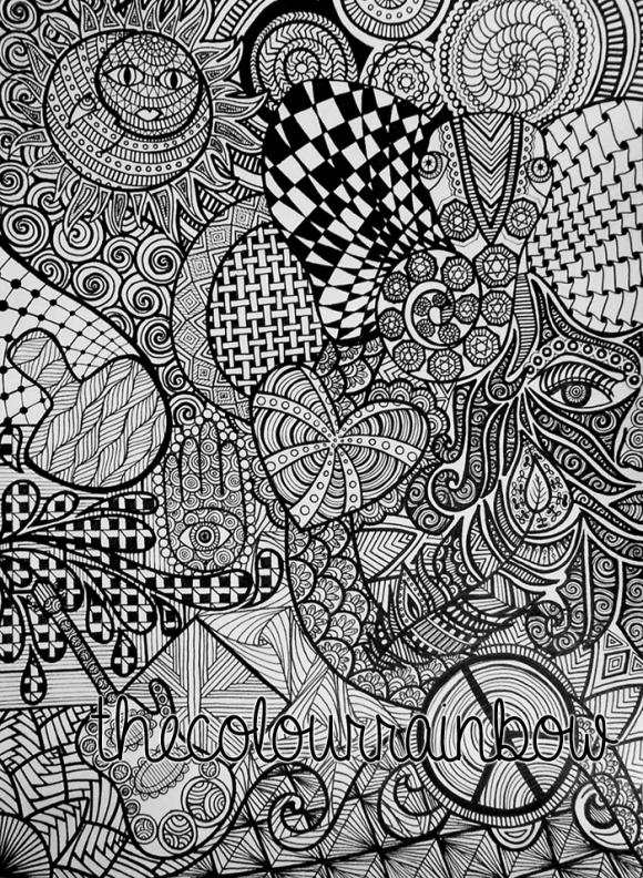 trippy drawings